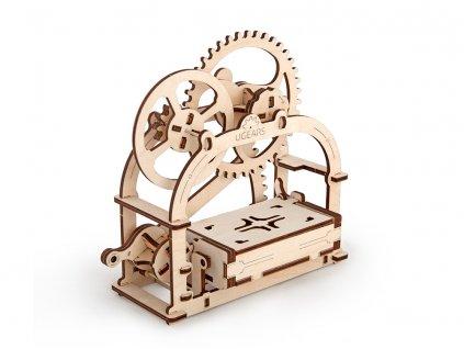 3D mechanické puzzle Vizitkář