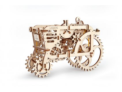 Ugears 3D mechanické puzzle Traktor 97 ks