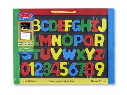 Dětská oboustranná magnetická tabule