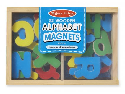 Magnetická dřevěná písmena