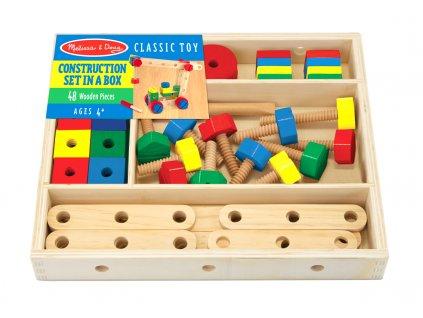 Dřevěná konstrukční sada