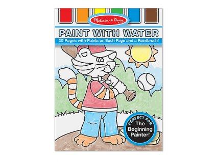 Malujte vodou - Modré vydání
