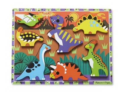 Masivní skládačka s dinosaury