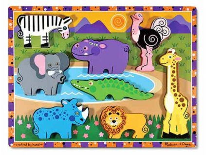 Masivní skládačka - Safari