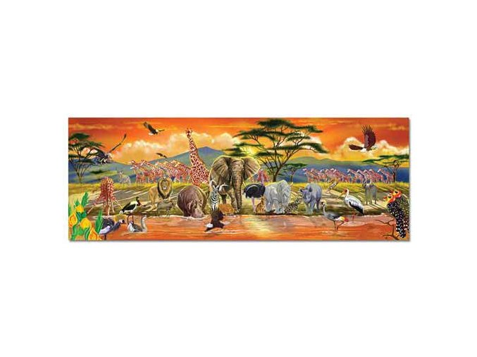 Podlahové puzzle Safari