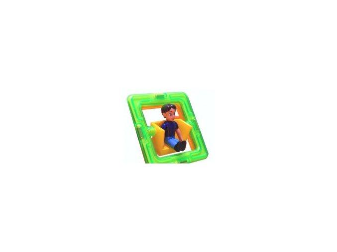 Otočná figurka Magformers chlapeček