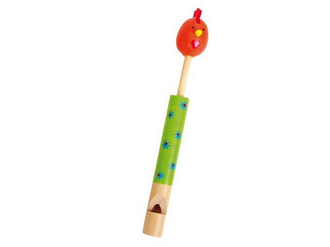 Dřevěná píšťalka - Slepička