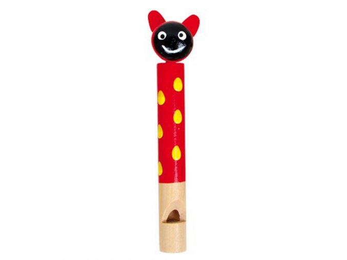Dřevěná píšťalka - Beruška