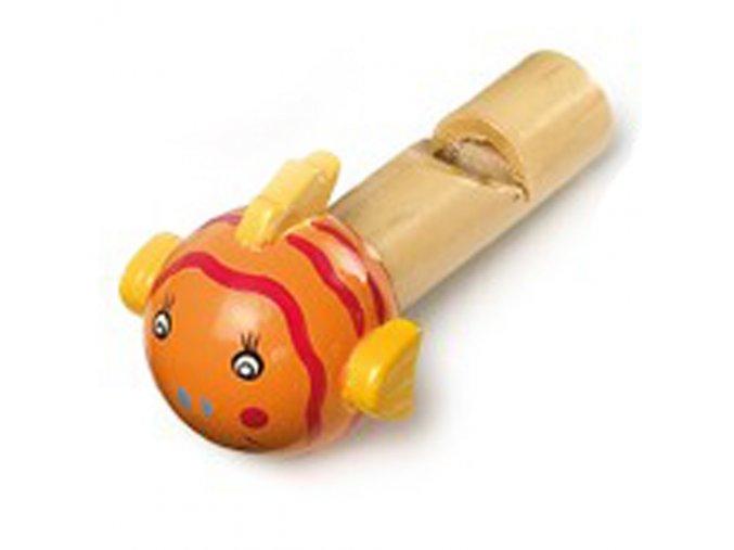 Píšťalka oranžová rybka