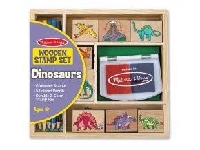 Dřevěná razítka Dinosauři
