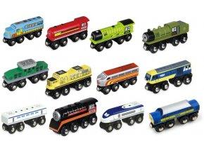 Dřevěná lokomotiva