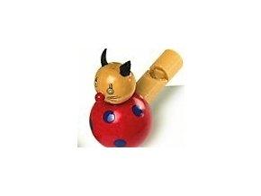 Píšťalka červená kočka