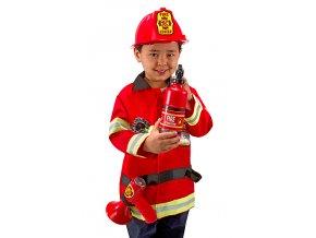 Dětský kostým Hasič  Akční cena do vyprodání zásob