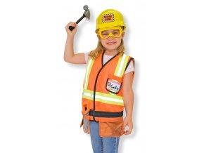 Dětský kostým Stavební dělník  Akční cena do vyprodání zásob