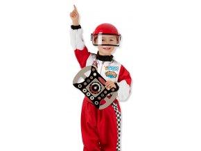 Dětský kostým Pilot Formule 1  Akční cena do vyprodání zásob