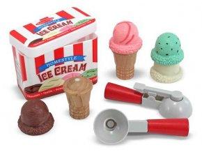 Dřevěná sada pro zmrzlináře