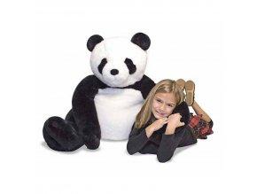 Plyšová maxi panda
