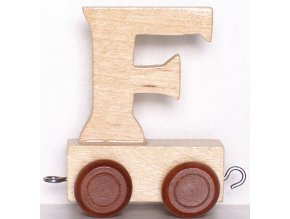 Písmenkový vláček F