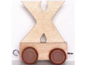 Písmenkový vláček X