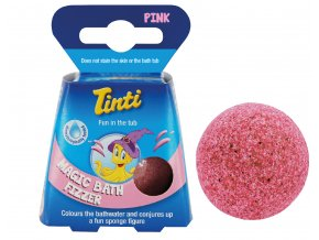 Magic Bath Pink with Ball