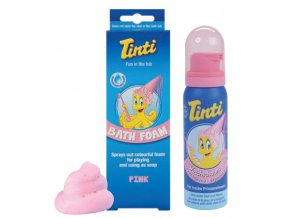 bath foam pink