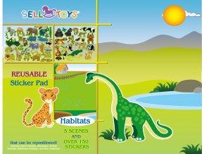přední strana habitats