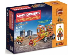 Magformers XL Cruiser - Stavební auto