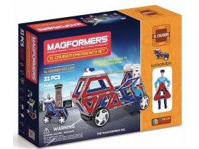 Magformers XL Cruisers - Záchranáři