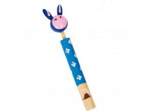 Dřevěná píšťalka - Králíček