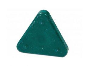 Voskovka trojboká Magic Triangle pastel akvamarinově zelená