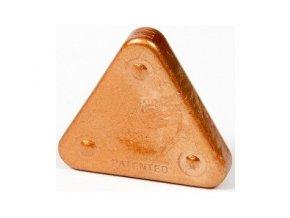 Voskovka trojboká Magic Triangle metalická bronzová