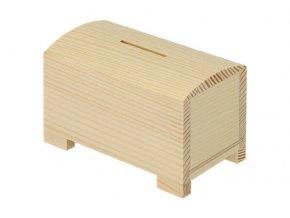 Dřevěná pokladnička