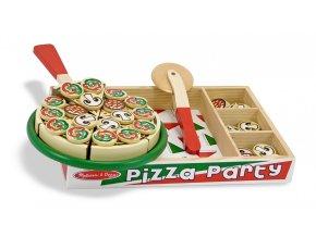 Krájení - Pizza party