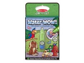 Vodní pero - zvířata