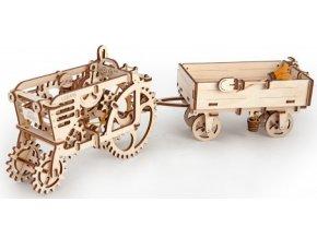 3D mechanické puzzle Vlečka