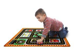Hrací koberec město a záchranáři