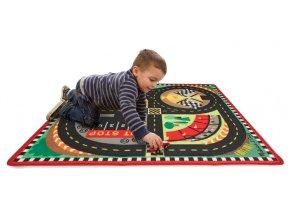 Hrací koberec závodní okruh