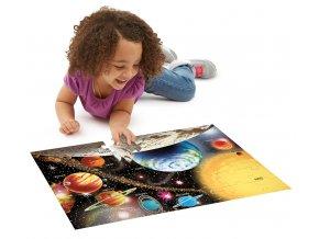 Podlahové puzzle Sluneční soustava