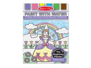 Malujte vodou - Princezna
