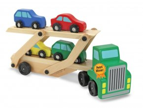 Dřevěný převažeč aut
