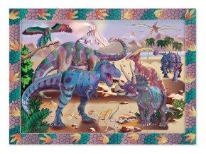 Nalepování podle čísel - Soumrak dinosaurů