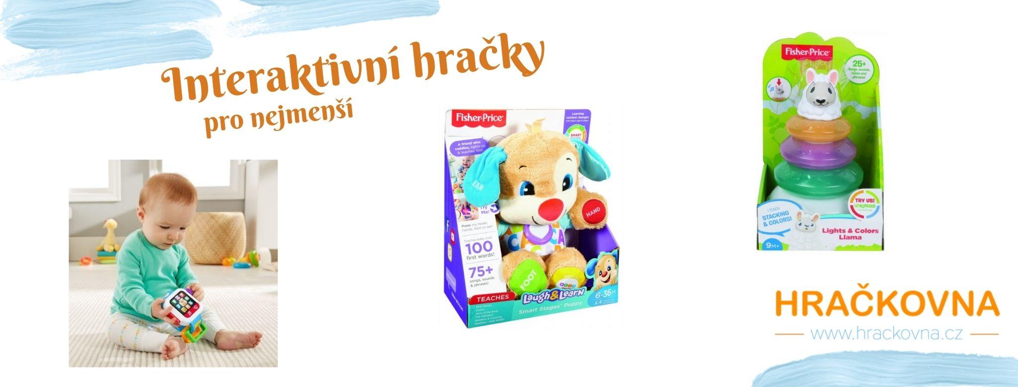 Interaktivní hračky už pro nejmenší děti