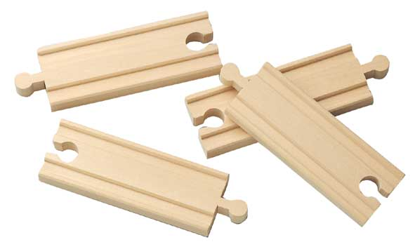 Dřevěné koleje a výhybky