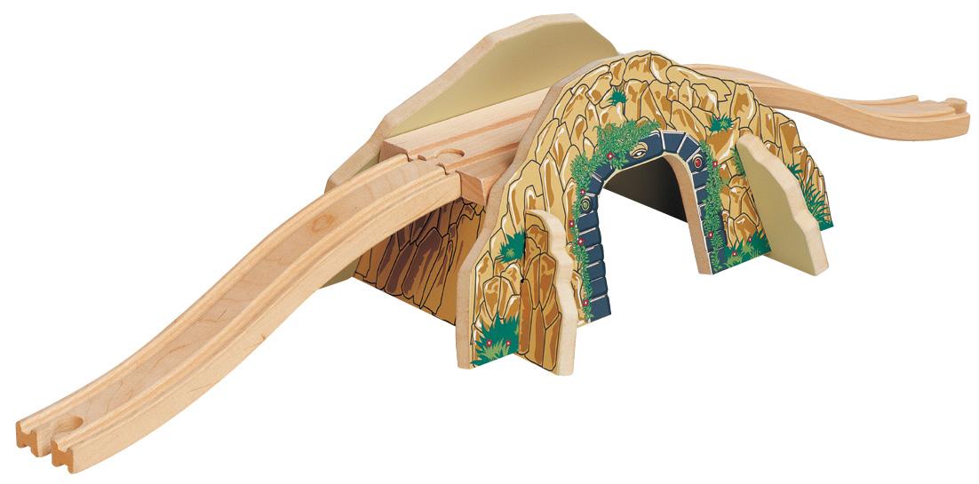 Dřevěné mosty a tunely
