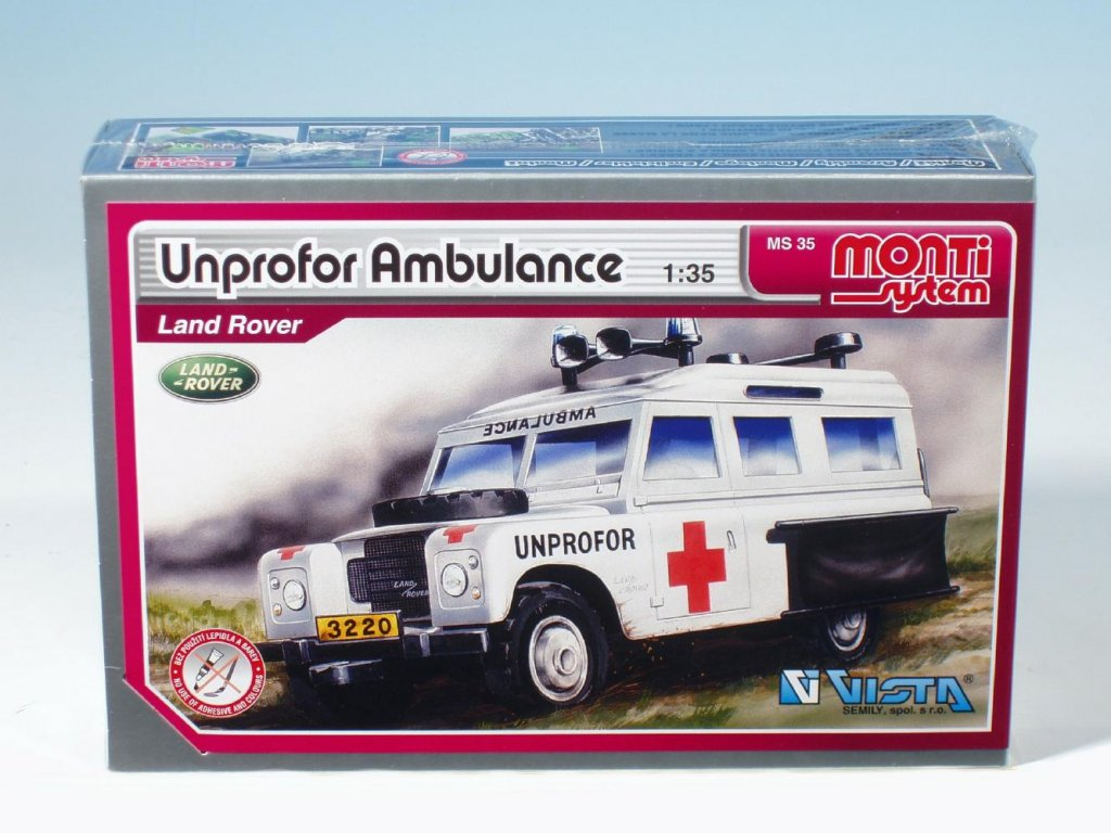 MS 35 - Unprofor Ambulance Land Rover