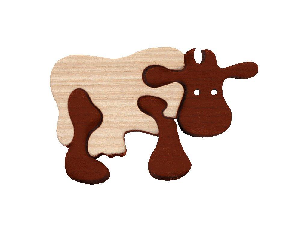 Malá kráva hnědá