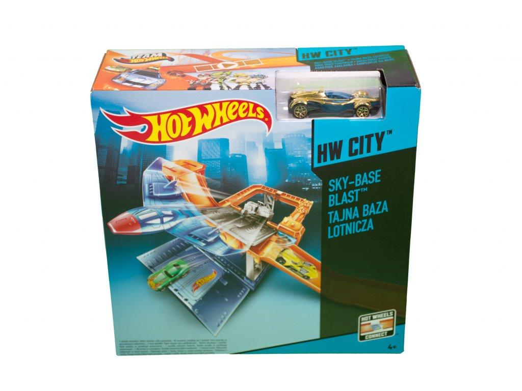 Hot Wheels City Odpalovací rampa