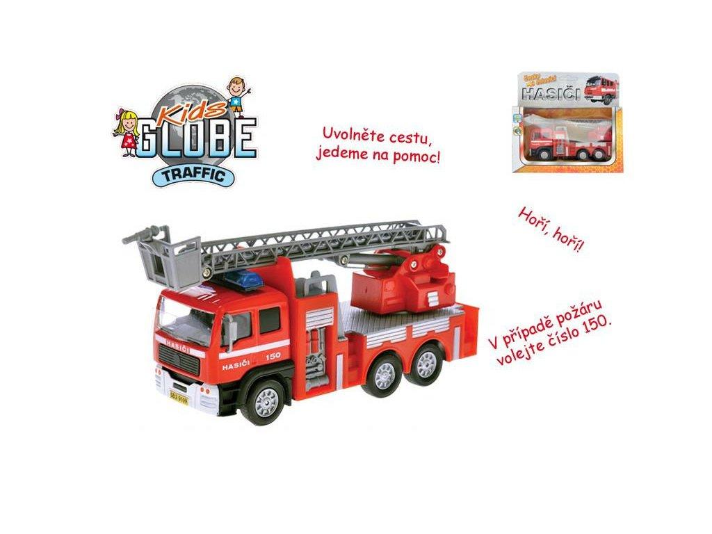 Auto hasiči česky mluvící
