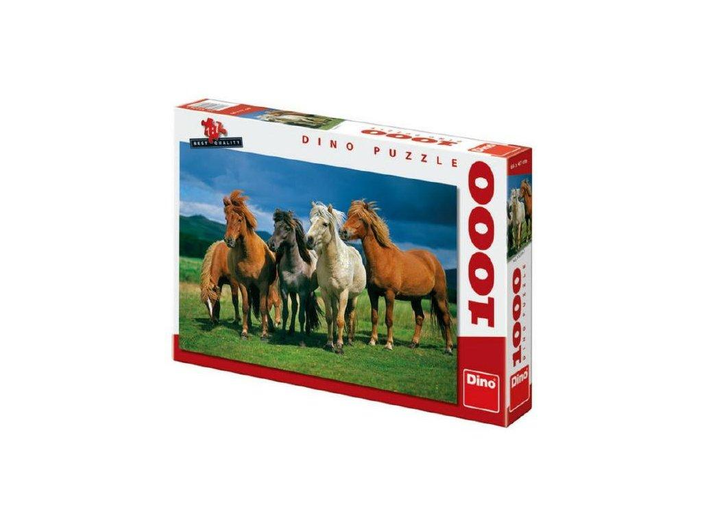 Puzzle Islandští koně