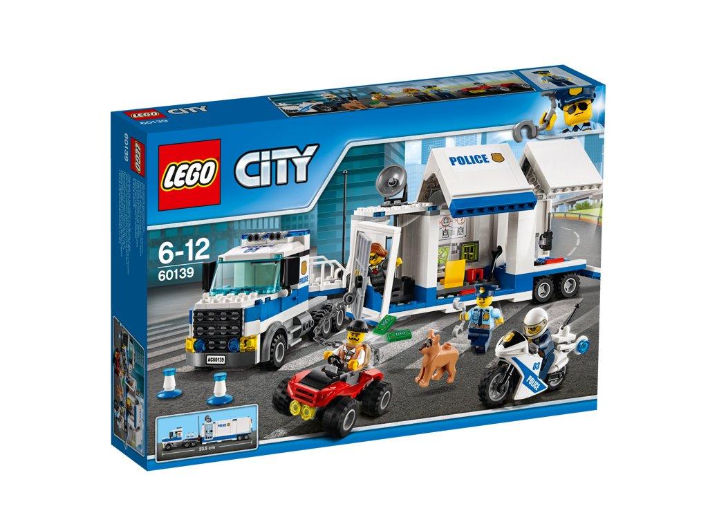 LEGO® City Mobilní velitelské centrum